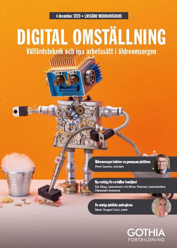 Digital omställning, konferens 4 december 2020